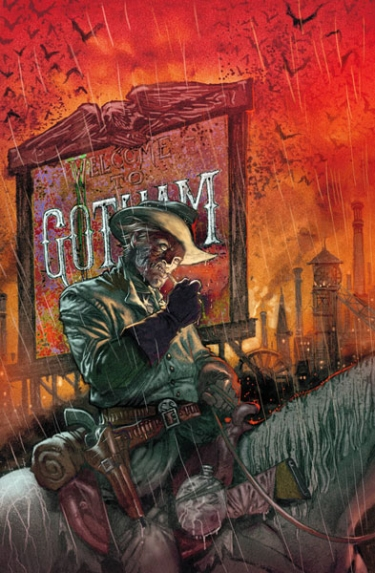 All Star Western #1 cover