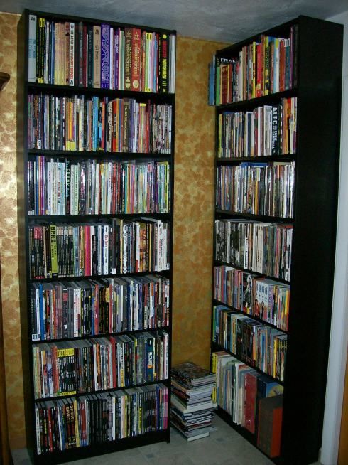 Billy Bookcases with Comics
