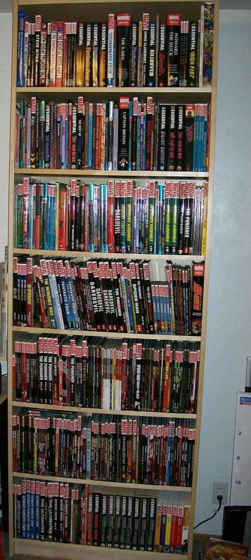 Marvel bookcase