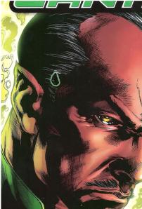 Green Lantern 1 teardrop zoom