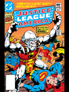 Justice League of America #196 cover