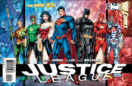 Justice League 1 2nd print cover