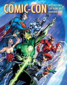 Jim Lee's Justice League cover for Comic-Con 2011 souvenir book