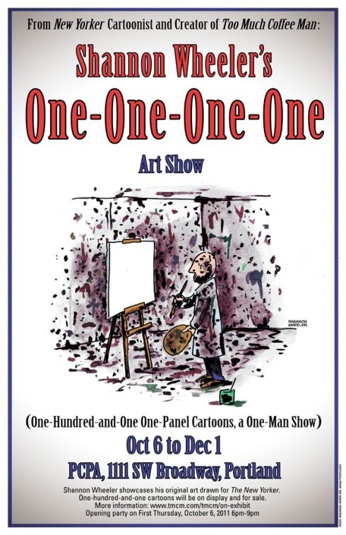 Shannon Wheeler art show