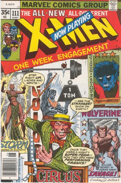X-Men 111 cover
