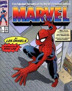Marvel Five Fabulous Decades cover