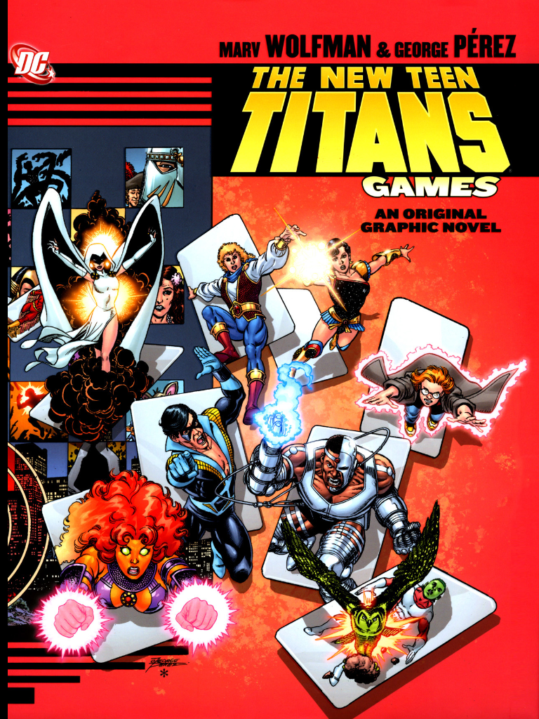 Teen Titans Old Games