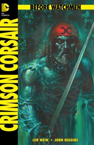 Before Watchmen Crimson Corsair cover