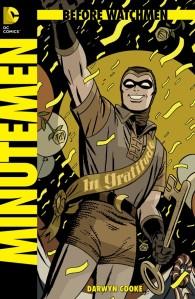 Before Watchmen Minutemen cover