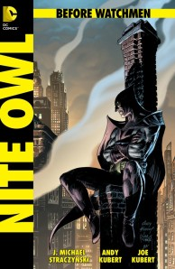 Before Watchmen Nite Owl cover