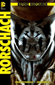 Before Watchmen Rorschach cover