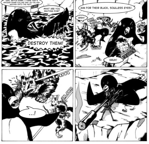 Penguins vs Possoms strip 1