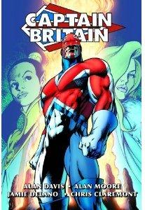 Captain Britain Omnibus cover