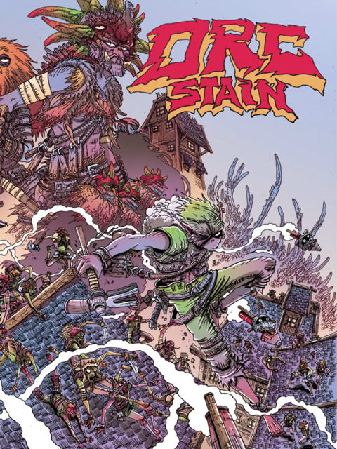 Orc Stain TPB cover