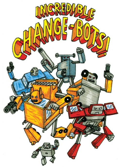 Incredible Change-Bots cover