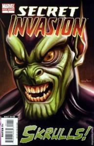 Skrulls! cover
