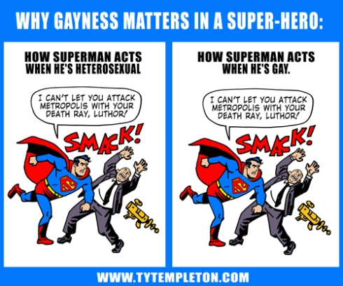Ty Templeton on why gayness matters in a super-hero