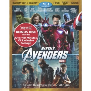Avengers Blu-Ray Target exclusive