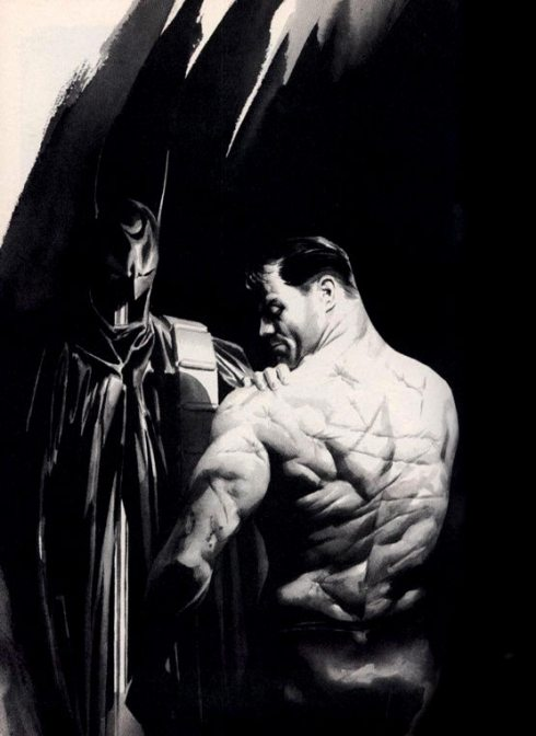 Batman: Black and White by Alex Ross