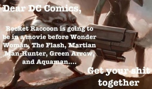 Rocket Raccoon movie