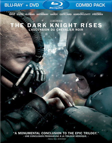 The Dark Knight Rises (Best Buy Blu-Ray Canadian edition)