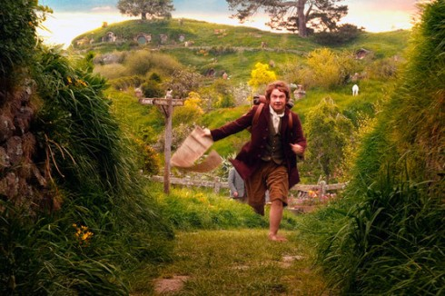 Hobbit going on an adventure