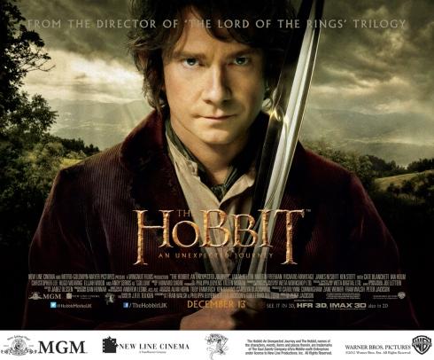 Hobbit poster Bilbo