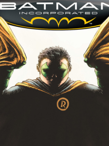 Batman Inc #8 cover detail