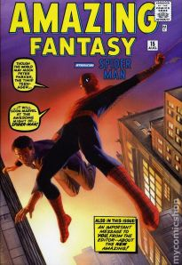 Amazing Spider-Man Omnibus 1 cover by Alex Ross