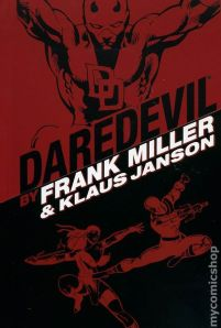Daredevil by Miller & Janson Omnibus red-black cover