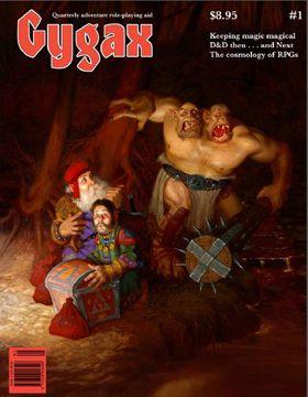 Gygax Magazine #1 cover
