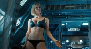 Alice Eve underwear