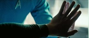 Kirk & Spock hands