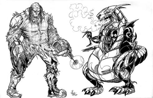 Hillbilly Frank & Robo Dragon 100dpi