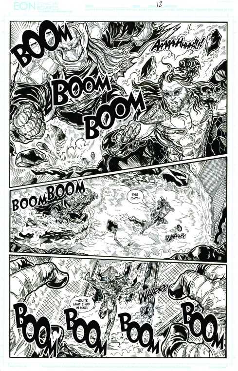 The Beat Down p6 lettered inks low-res
