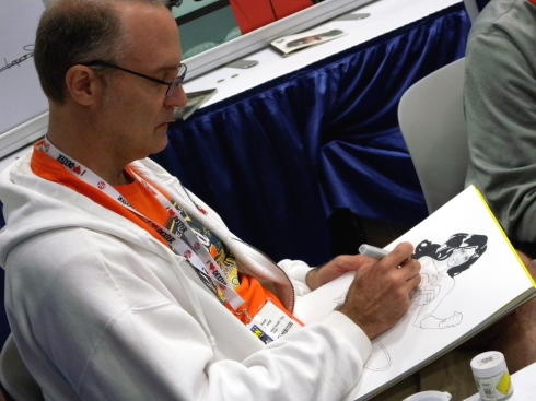 Marvel & DC artist Aaron Lopresti (also my old comics-art teacher in high school!)