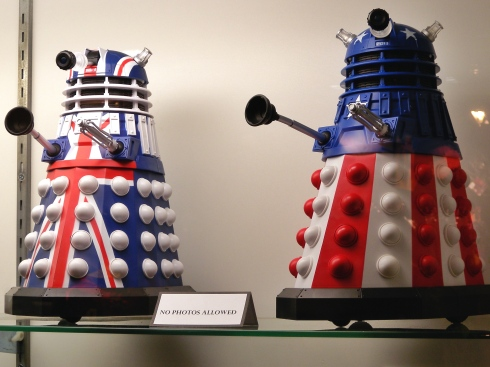 Remember that Doctor Who episode with the different-colored Daleks? I hated that episode. I do like these, though.