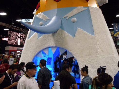 The Ice King eating Cartoon Network fans