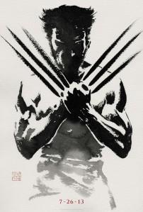 The Wolverine sumi-e teaser