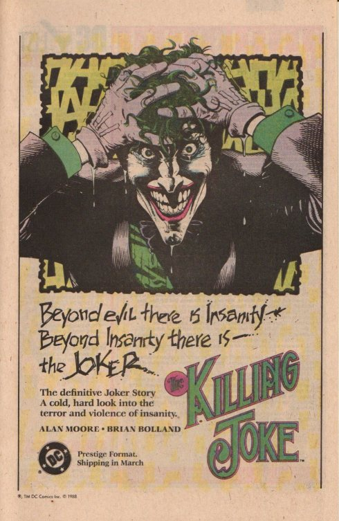 Batman: The Killing Joke ad